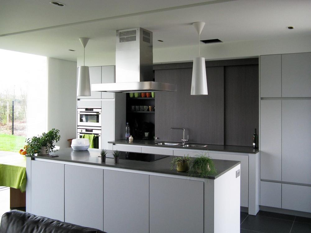 Standaard keuken nieuwbouw - Keuken uitgerust m ...